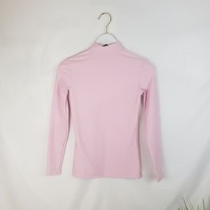 Under Armour Light Pink Long Sleeve Workout Top S